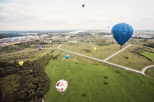 Rugpjūčio 4-7 d. Kėdainiuose vyko tarptautinės karšto oro balionų varžybos