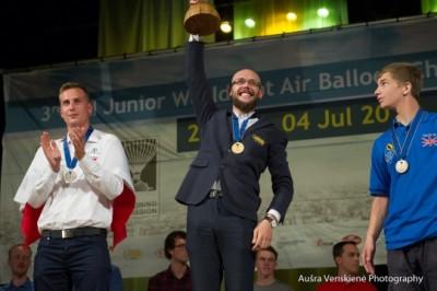 Rokas Kostiuškevičius - pasaulio jaunimo oro balionų čempionas