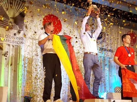 Pasaulio oro balionų čempionato sidabras – lietuviui
